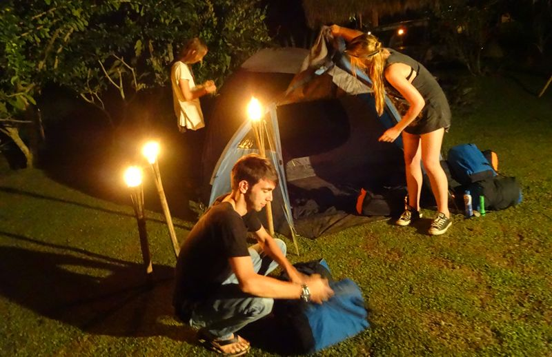 Bali Camping Ubud Check-in