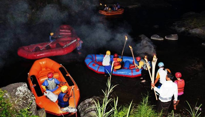 Bali Night Rafting Ubud Camp Half Day