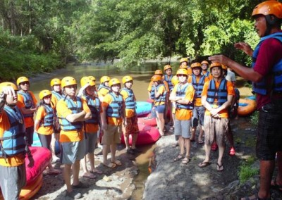 Bali Outing dan Tubing Ubud Camp Full Day 02