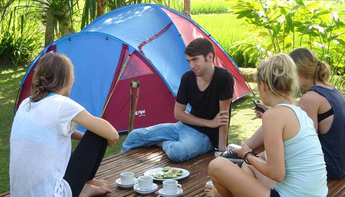 Bali Tubing, Outing dan Camping Ubud Camp 2 Days 1 Night