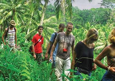 Outing Bali Trekking Ubud Camp Full Day 05