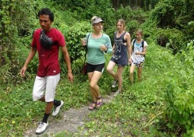 Outing Bali Trekking Ubud Camp Full Day 06