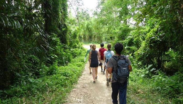 Outing Bali Trekking Ubud Camp Full Day