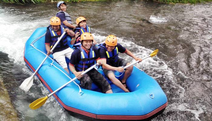 Bali Outbound Ubud Camp Full Day – Rafting