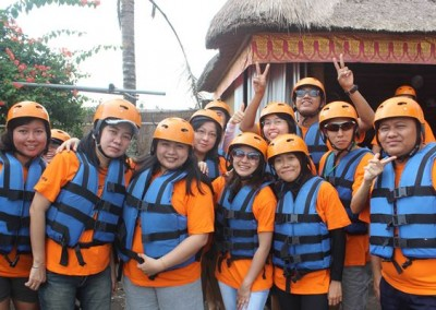Bali Outbound Ubud Camp Full Day - Rafting PS22015