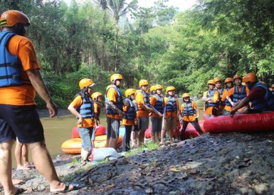 Bali Outbound Ubud Camp Full Day - Tubing 04