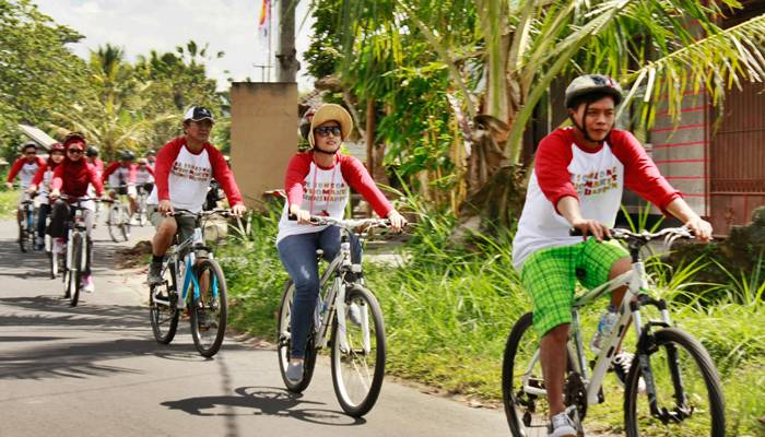 Bali Outing Ubud Camp Half Day – Cycling