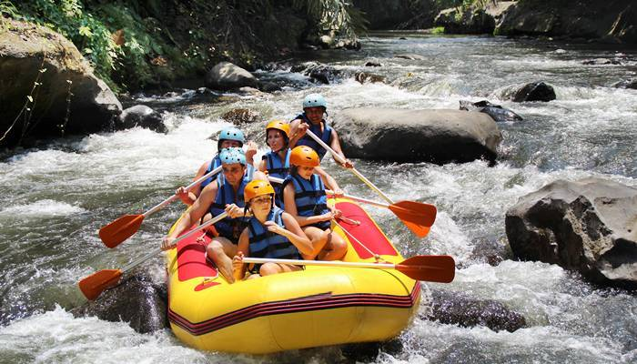 Bali Outing Ubud Camp Half Day – Rafting