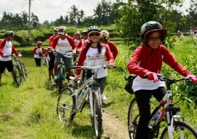 Bali Gathering Di Ubud Camp Cycling & Rafting Full Day 03