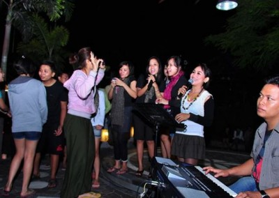 Bali Gathering Sunset Dinner & Single Electone Half Day 03