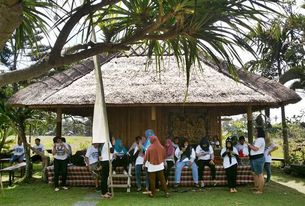 Restaurant Gathering Di Ubud Camp Bali PM1