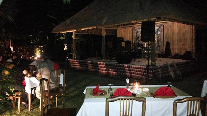 Ubud Camp Restaurant Performance Stage
