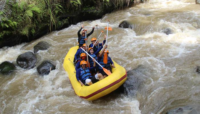White Water Rafting Bali Ayung River Ubud Camp IG06