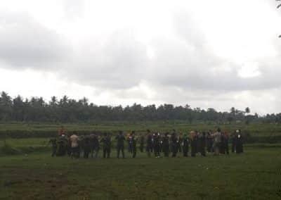 BTPN Outbound di Bali Dengan Tema Militer 6