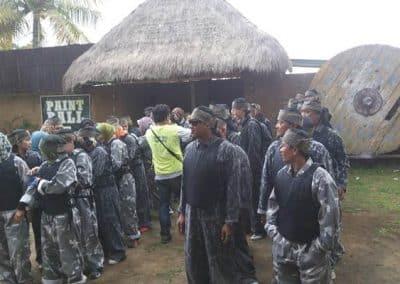BTPN Outbound di Bali Dengan Tema Militer 7