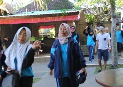 Outbound Dinas Kebudayaan & Pendidikan Kutai Timur - Tiba