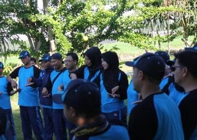 Outbound Dinas Kebudayaan & Pendidikan Kutai Timur - Trafic Light