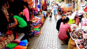 Objek Wisata di Ubud Pasar Seni Sukawati