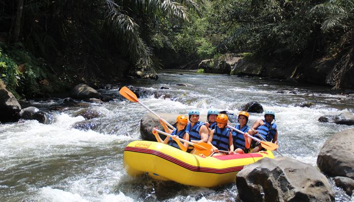 White Water Rafting Bali Ayung River Ubud Camp GI01
