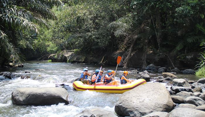 White Water Rafting Bali Ayung River Ubud Camp IG02