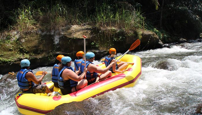 White Water Rafting Bali Ayung River Ubud Camp IG03