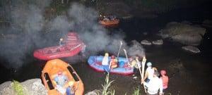 Bali Night Rafting