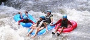 Bali River Tubing Adventure Header