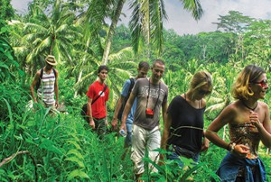 Bali Trekking in Ubud Rice Paddies Featured
