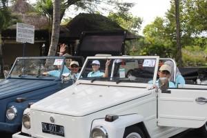 Ubud Camp Bali Amazing Race Adventure VW Safari