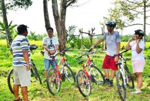 Bali Cycling Tours Ubud Camp Pic