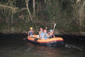 Bali Night Rafting Guide Pic