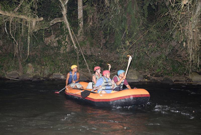 Bali Night Rafting & Bali Cycling Tours Full Day