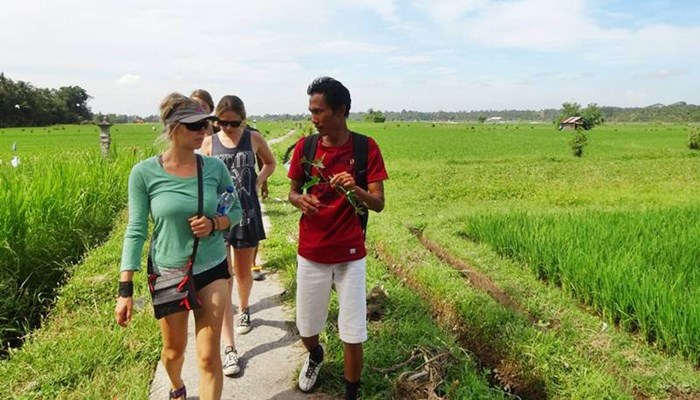 Bali Trekking and Tubing Ubud Camp  Full Day