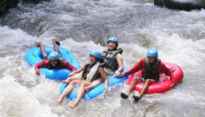 Bali Tubing Ubud Camp Half Day Picture 2015