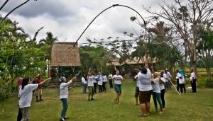 Outing Bali Trekking Ubud Camp Full Day 01