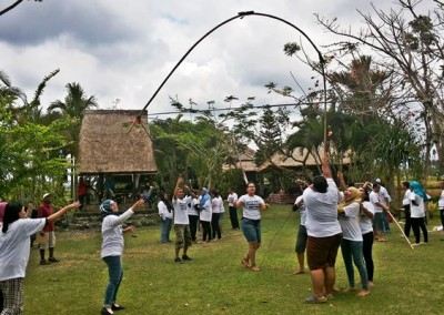 Outing Bali Trekking Ubud Camp Full Day 01