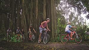 Tubing dan Cycling Ubud Camp Picture 2015
