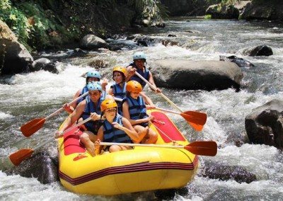 Bali Outbound Ubud Camp Full Day - Rafting PS12015