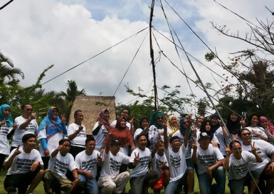 Bali Outbound Ubud Camp Full Day - Rafting PS52015