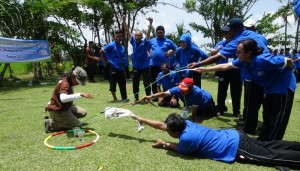 Bali Outbound Ubud Camp Full Day - Trekking 02