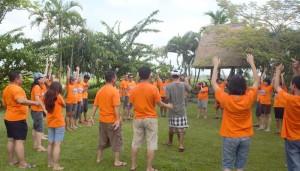 Bali Outbound Ubud Camp Full Day - Tubing 02