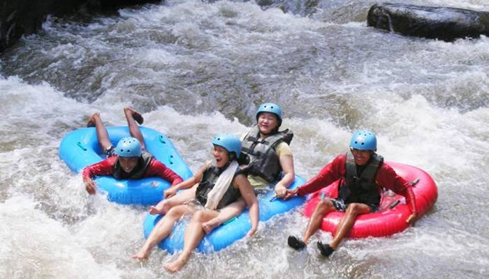 Bali Outbound Ubud Camp Full Day - Tubing Feature