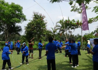 Bali Outbound Ubud Camp Half Day PS12015