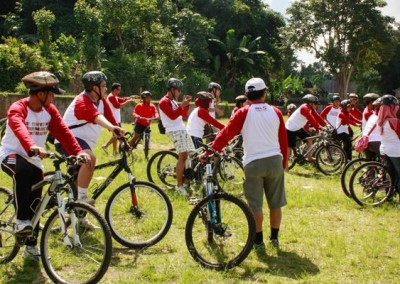 Bali Outing Ubud Camp Half Day - Cycling 01