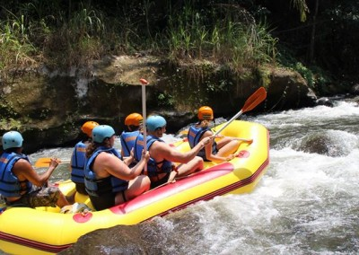 Bali Outing Ubud Camp Half Day - Rafting - 02