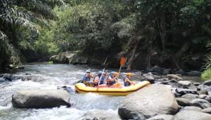 Bali Outing Ubud Camp Half Day - Rafting - 03