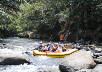Bali Outing Ubud Camp Half Day - Rafting - 03