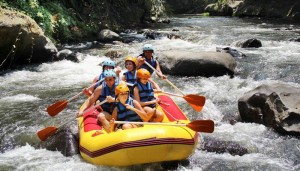 Bali Outing Ubud Camp Rafting Feature