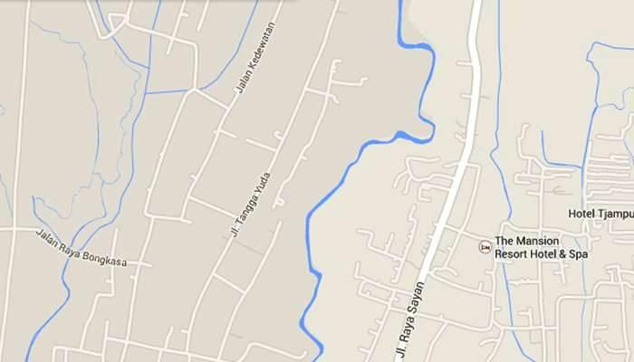 Bali Ubud Map