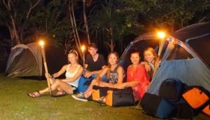 Paket Wisata Adventure Bali - Camping Ubud Camp 2015